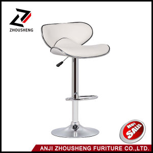 Cheap Modern Colorful Leather Swivel Comfortable Bar Chair Zs-1019