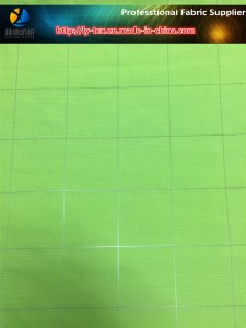 Polyester Reflective Yarn Dyed Fabric for Sportwear in The Evening
