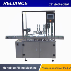 E Liquid and Glass Dropper Bottle Filling Capping Machine