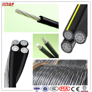 Triplex Overhead ABC Aerial Bundled Cables and Underground Cable (URD wire)