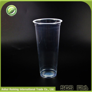 23oz / 700ml Clear Recycled Biodegradable Sealable Plastic Cup with Dome Lids