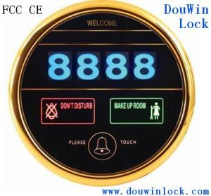 High Security Electronic Touch Screen Hotel Doorbell