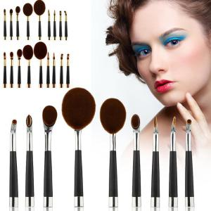 New Style Mermaid Oval Toothbrush Makeup Brush