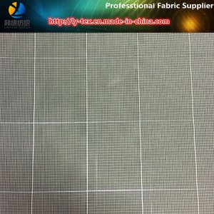 Polyester Yarn Dyed Fabric with Reflective Yarn