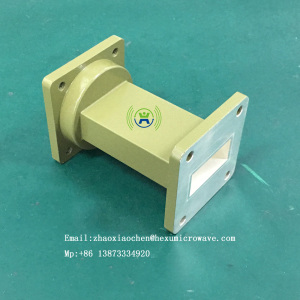 Parabolic Microwave Dish System Rigid Waveguide Component