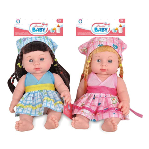 12 Inch Lovely Vinyl Baby Doll with IC (10264640)