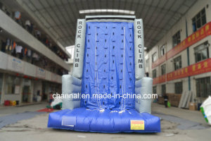2016 Hot Excited Outdoor Inflatable Rock Climbing Wall for Sale