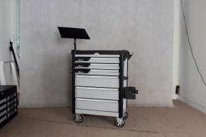 27 Inch 6 Drawer Roller Cabinet; Tool Cabinet